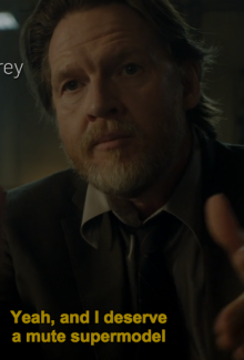 The only reason this works is because Donal Logue has the charm and charisma to pull it off.