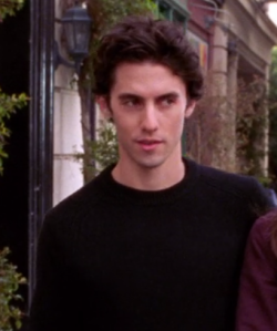 "Milo Ventimiglia realizing him saying , ""Do you Yahoo!?"" was captured on camera."